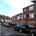 ST1775 : Flats and satellite dishes, Pentre Place, Cardiff by Jaggery