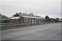 SH5639 : Porthmadog railway station by Bill Boaden