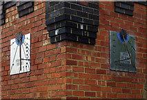 SP6989 : Sundials, Foxton engine house by Ian Taylor