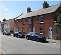 SY4692 : Grade II listed row of three houses, South Street, Bridport by Jaggery