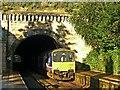 SE3457 : Train from York arriving at Knaresborough by Alan Murray-Rust