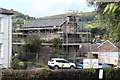 SO2914 : Building undergoing renovation, old workhouse site, Abergavenny by M J Roscoe