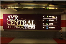 NS3421 : Ayr Central Shopping Centre Information by Billy McCrorie