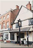 SK3516 : Market Street, Ashby-de-la-Zouch, Leics. by David Hallam-Jones