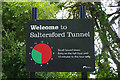 SJ6275 : Welcome to Saltersford Tunnel by Stephen McKay