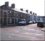 ST1775 : Tynant Street, Grangetown, Cardiff by Jaggery