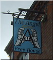 TG0116 : Sign for the Angel public house, Swanton Morley by JThomas
