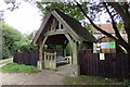 TL9162 : St. Mary's Church Lych Gate by Geographer