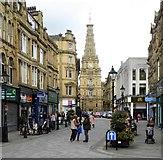 SE0925 : Along Southgate towards the Town Hall by Gordon Hatton