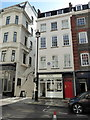 TQ2880 : 23 Brook Street, with Blue Plaque stating that Jimi Hendrix lived here by PAUL FARMER
