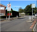 ST0781 : Traffic calming on Heol Creigiau, Creigiau by Jaggery