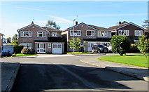 ST0881 : Parc Castell-y-Mynach houses, Creigiau by Jaggery