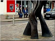 "H4572 : ""Balance"" sculpture, Omagh by Kenneth  Allen"