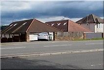 ST3090 : Malpas Road bungalows, Newport by Jaggery