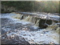 NZ1700 : River  Swale  at  Richmond  falls  after  heavy  rain by Martin Dawes