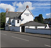 ST0881 : South side of Creigiau Inn, Creigiau by Jaggery