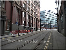 SJ8498 : Upper section of Balloon Street, Manchester by Richard Vince