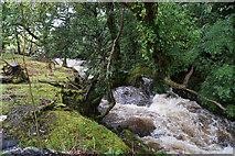 SH5848 : Afon Colwyn by Bill Boaden