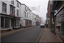 SO2956 : A misty morning in Kington by Richard Webb