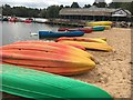 SK6263 : Boats on the beach at Center Parcs by Graham Hogg