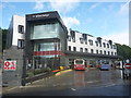 NT4936 : Galashiels Townscape : The Interchange Bus Station by Richard West