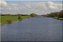 ST3144 : Huntspill River by N Chadwick