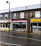 SS9992 : Mike Bayliss & Sons Butchers in Tonypandy by Jaggery