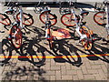TQ2081 : Mobikes in Acton, can be unlocked by smartphone app  by David Hawgood