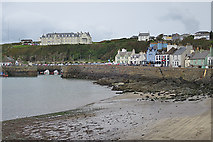 NW9954 : Portpatrick Harbour by Anne Burgess