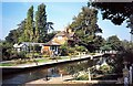 SU7575 : Sonning Lock by norman griffin