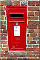 TF7715 : West Acre Post Office Postbox by Adrian Cable