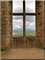 SK4770 : Bolsover Castle, View from the Terrace Range by David Dixon