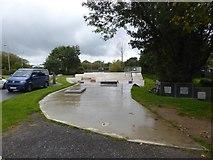 SS5404 : Hatherleigh skate park by David Smith