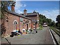 SJ3377 : Hadlow Road railway station, Willaston by Jeff Buck