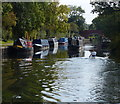 SK6012 : Narrowboats on the Grand Union Canal by Mat Fascione