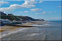 TG2142 : Beach at Cromer by Julian Osley