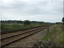 TM4599 : Railway towards Haddiscoe Railway Station by JThomas