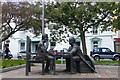 SC4594 : Millennium Sculpture, Ramsey by Robin Drayton