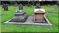 SE2837 : Graves of Samuel Smith and family by Stephen Craven