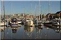TA0928 : Humber Dock Marina by Richard Croft