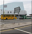 ST3188 : Yellow coach, Kingsway, Newport by Jaggery
