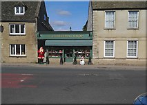 SU2199 : The Christmas Shop, High Street, Lechlade on Thames, Glos by P L Chadwick
