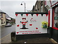 SS9992 : Welsh Hearts mural and defibrillator box, De Winton Street, Tonypandy by Jaggery