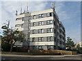 TL0550 : Apartment block, Bedford by M J Richardson