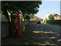 TG2738 : Defibrillator in red telephone box by Hugh Venables