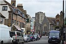 TQ0584 : Church of St Margaret down Windsor St by N Chadwick