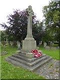 SK2572 : Baslow war memorial by David Smith