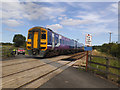 TA0859 : Outgates level crossing near Nafferton  by Stephen Craven