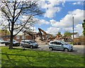 SJ9392 : Demolition at the Lowes Arms by Gerald England