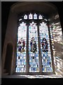 TG0004 : St Andrew, Southburgh: stained glass window by Basher Eyre